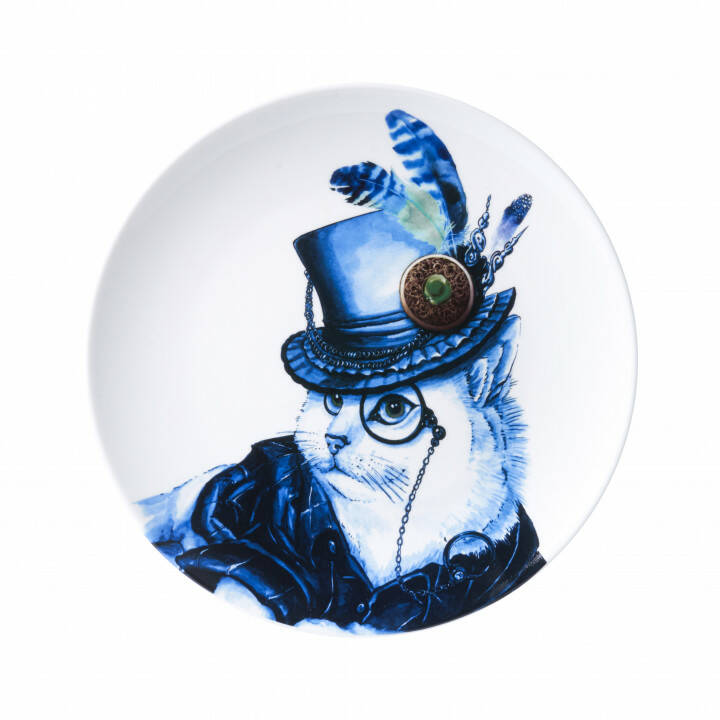 Plate: Cat with Hat