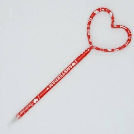 Love shaped pen