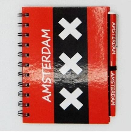 Notebook with pen (4 designs)