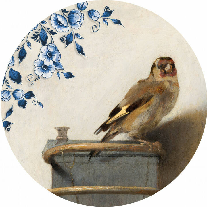 Wall Circle: The Goldfinch