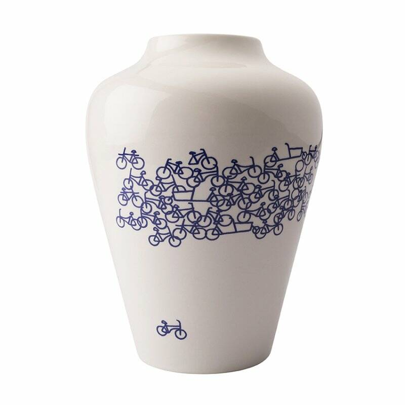 Vase Blue bike no.2