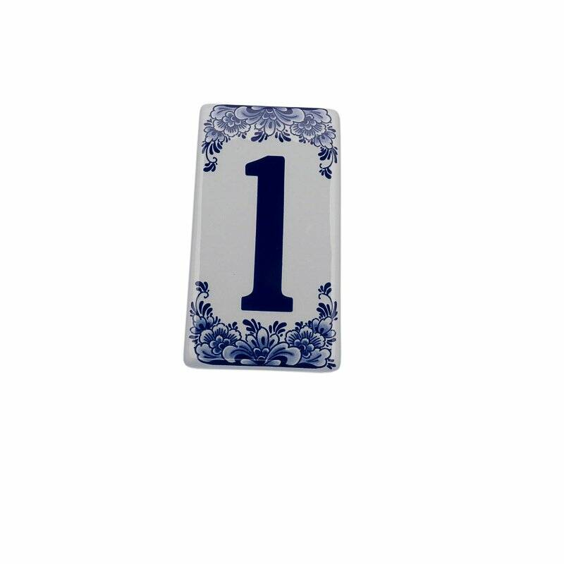 House number sign 1