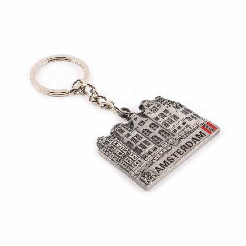 Keychain Canal House Tin