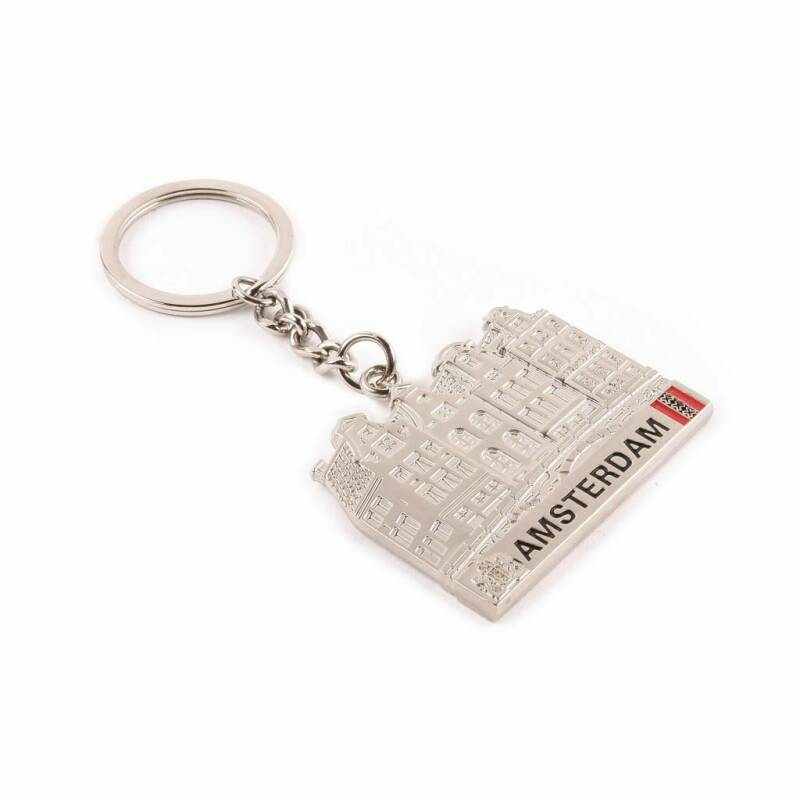 Keychain Canal House Silver