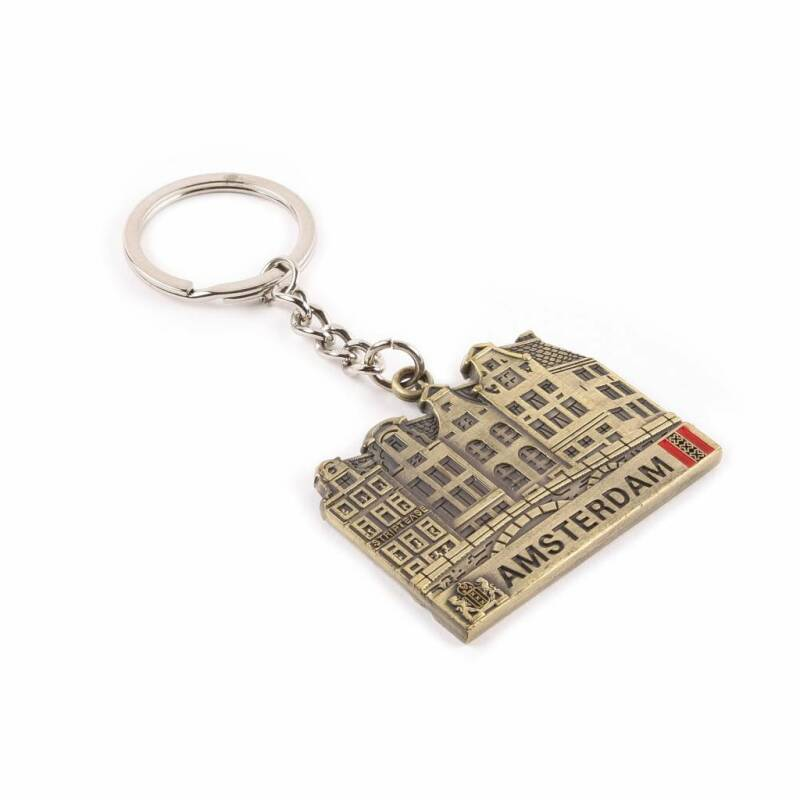 Keychain Canal House Bronze
