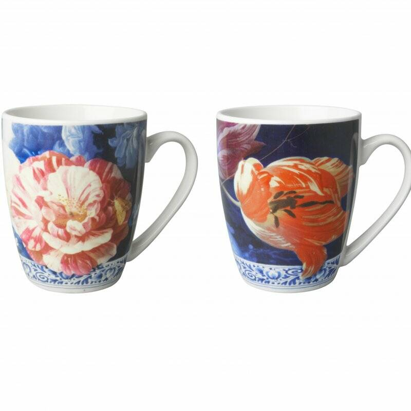 ''Flowers of the Golden Age'' set of 2