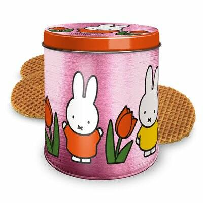 Miffy stroopwafel tin