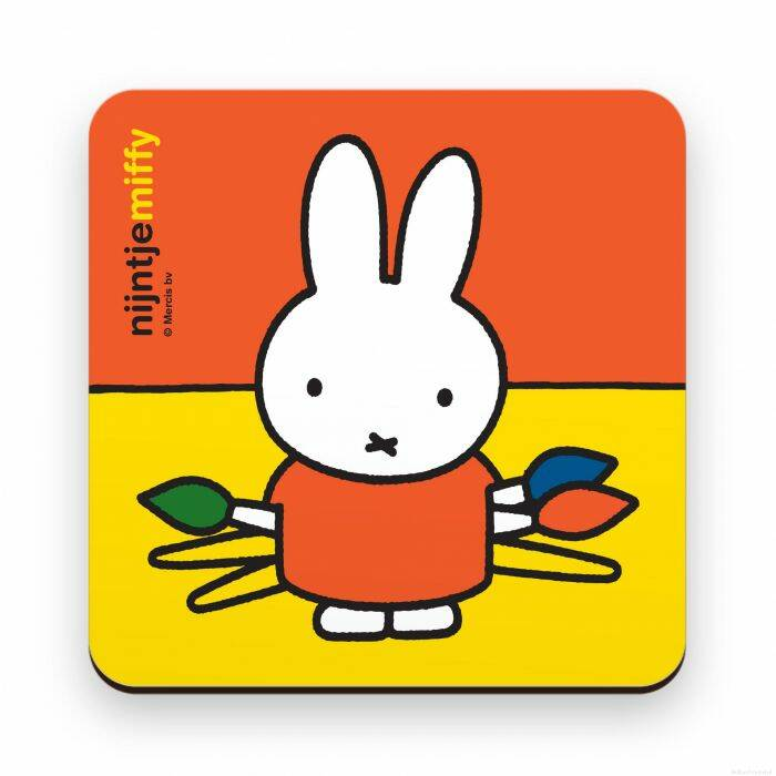 Miffy coaster colorfull