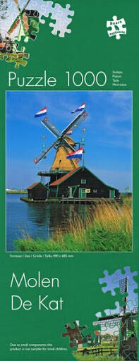 Windmill Netherlands Puzzle