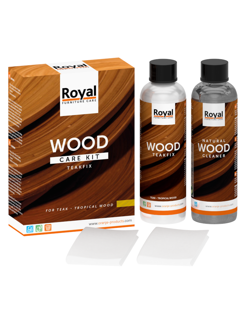 Wood Care Kit Teakfix incl. Cleaner