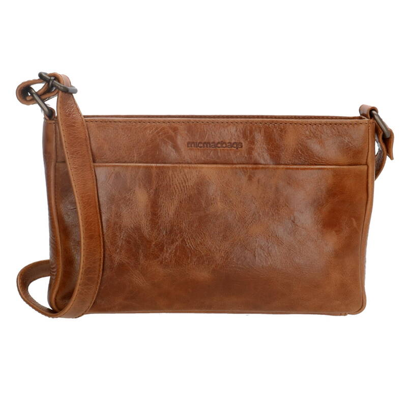 Micmacbags leren Cross Body tasje cognac