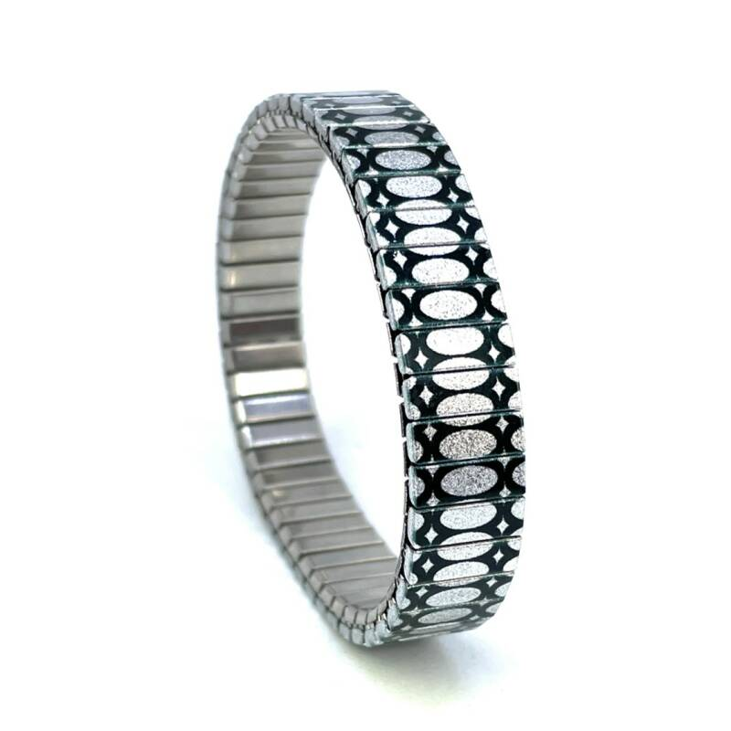 Urband slim Ovals Stretched silver
