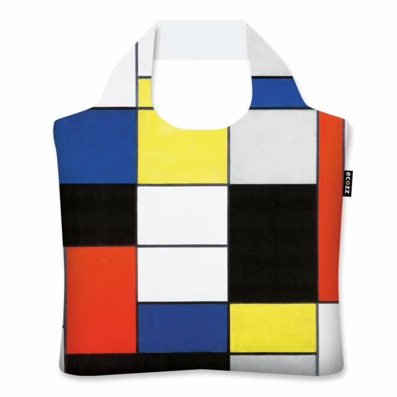 ECOZZ ECOSHOPPER Composition A - Piet Mondriaan