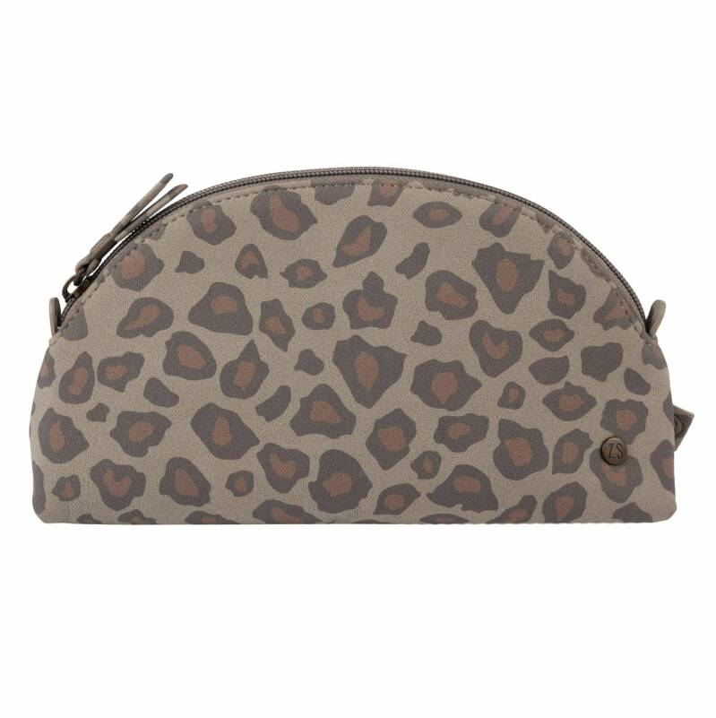 Zusss make-up tasje leopard print