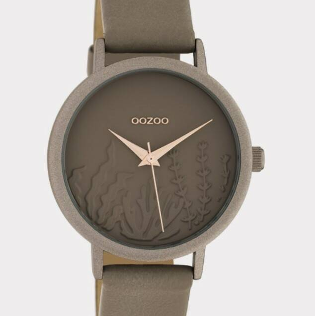 OOZOO Timepieces taupe C10603