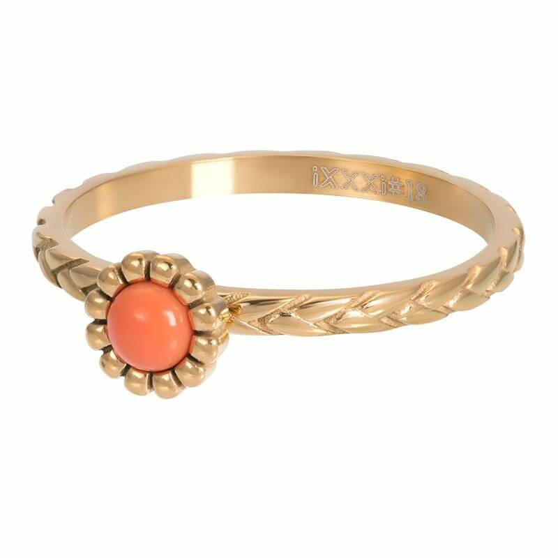 iXXXi ring Inspired coral