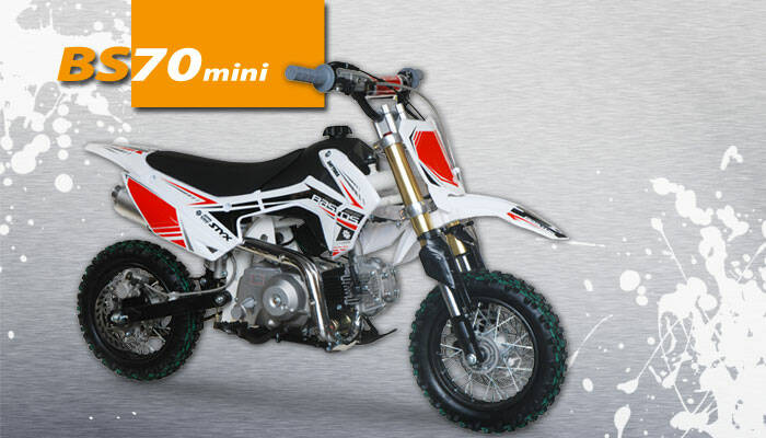 Bastos pitbike BS 70 mini