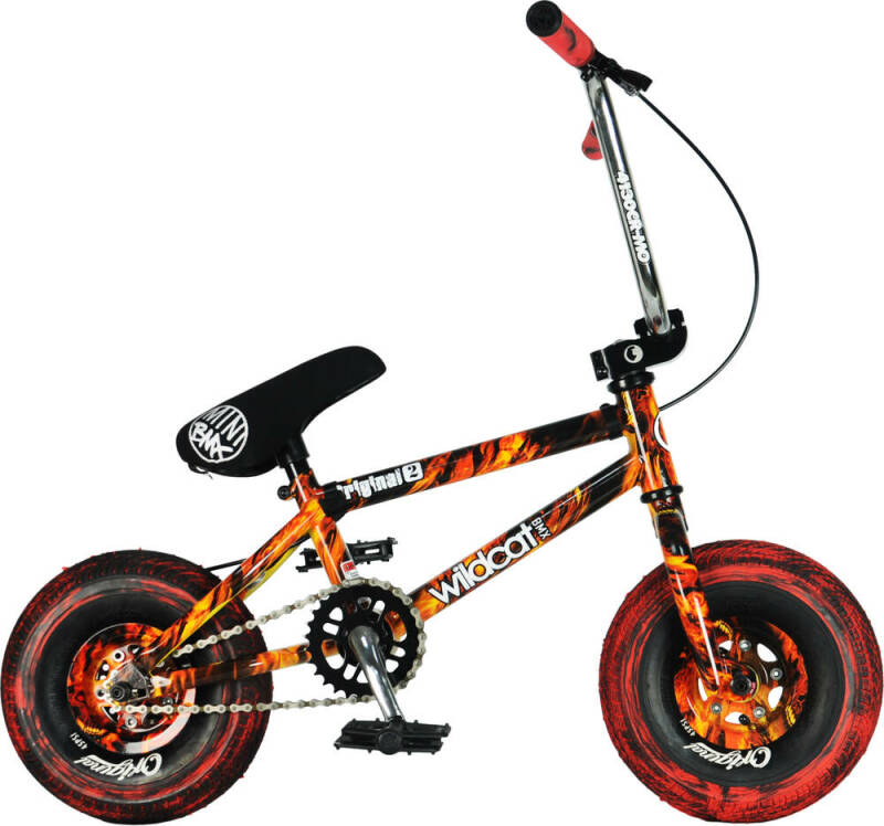 Verwacht 1e week december   Wildcat Fury Original 2A  Mini BMX Bike