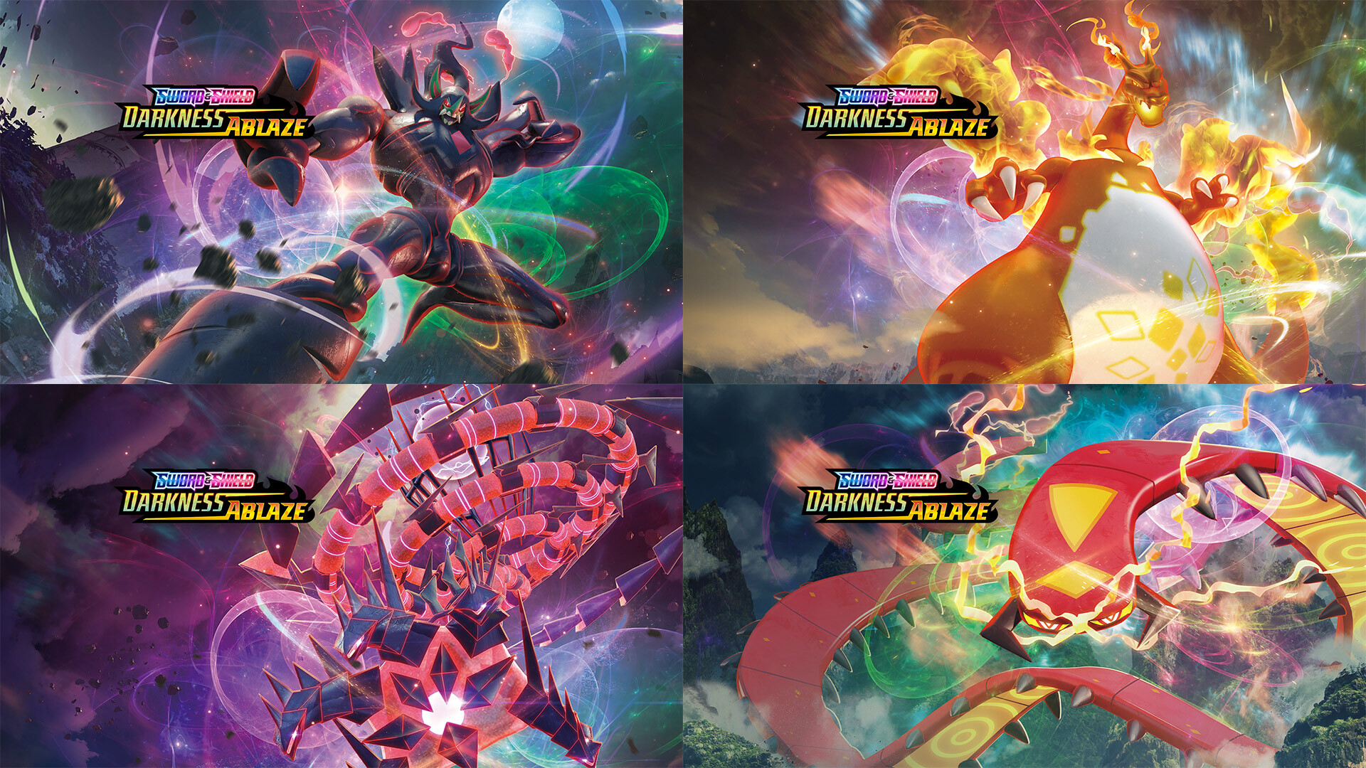 Download Darkness Ablaze Wallpapers Pokeguardian We Bring You The Latest Pokemon Tcg News Every Day