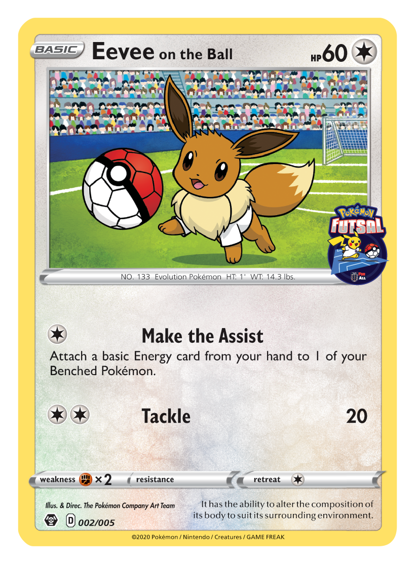 Grookey On The Ball Game Uk Exclusive Store Pokemon Futsal Promo Revealed Pokeguardian We Bring You The Latest Pokemon Tcg News Every Day Saffy riding on giant beach ball. grookey on the ball game uk exclusive