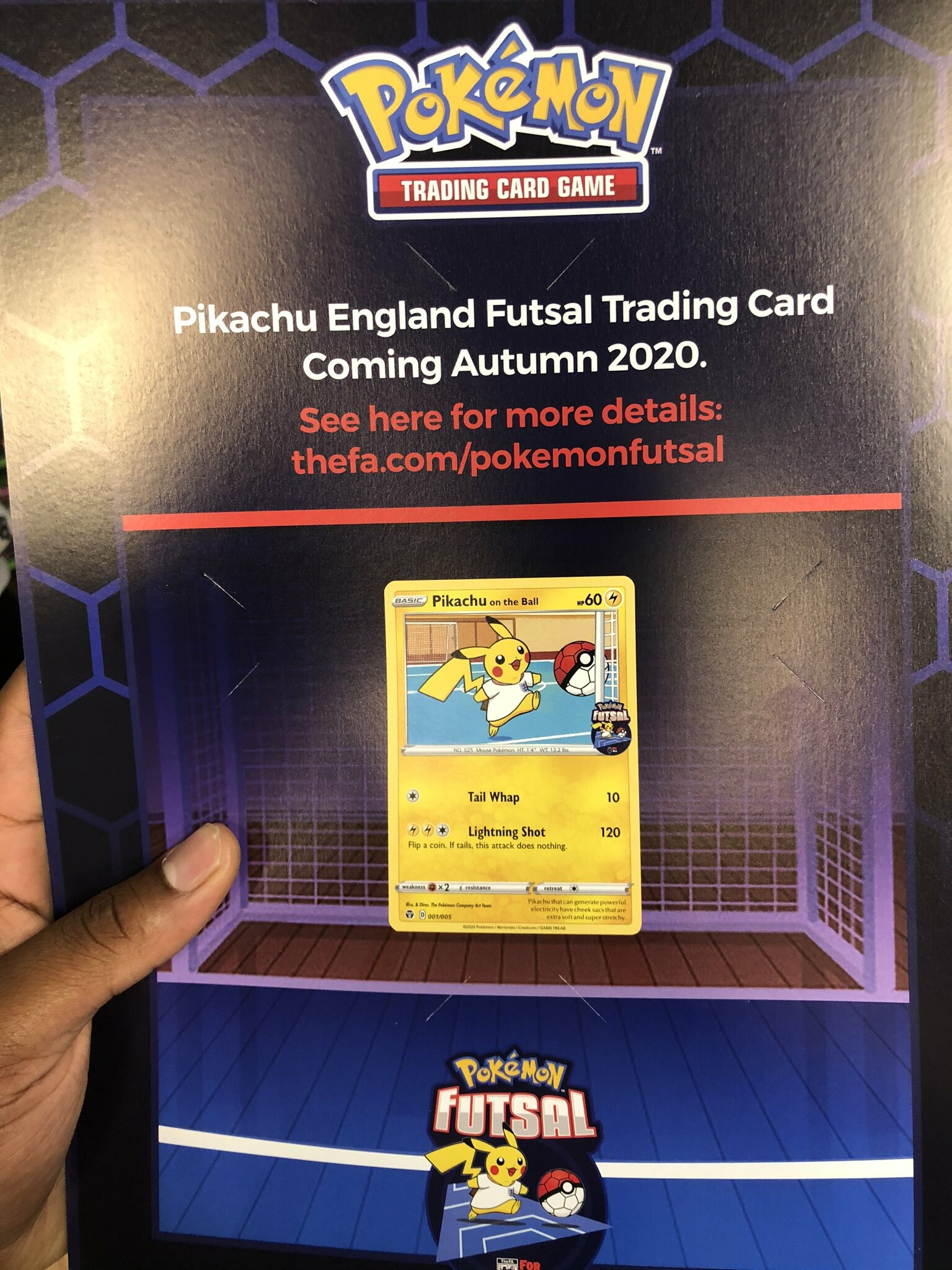Grookey On The Ball Game Uk Exclusive Store Pokemon Futsal Promo Revealed Pokeguardian We Bring You The Latest Pokemon Tcg News Every Day Specifically the leg on the left being crazy skinny in the thigh region! grookey on the ball game uk exclusive