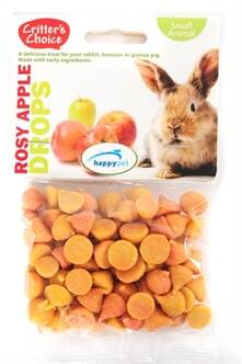 CRITTER'S CHOICE ROSEY APPLE DROPS 75 GR