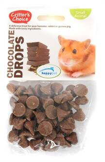 CRITTER'S CHOICE CHOCOLATE SNACK KNAAGDIER 75 GR