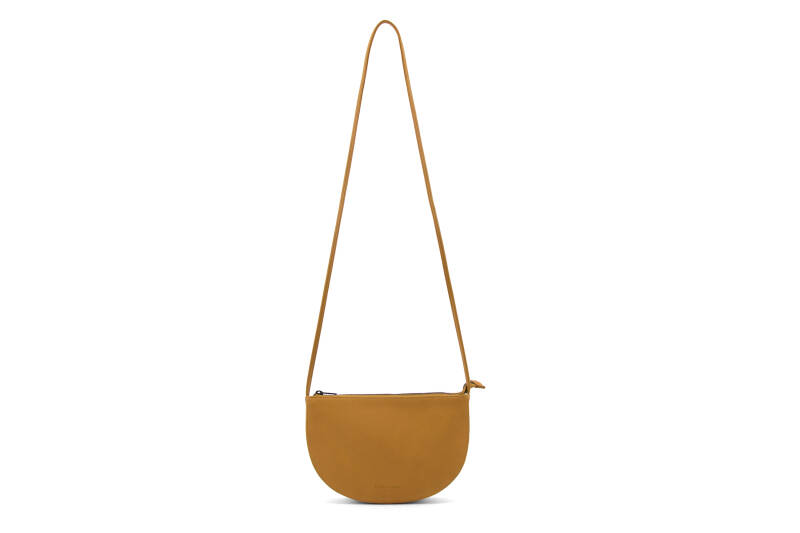 Monk & Anna - Half moon bag honey