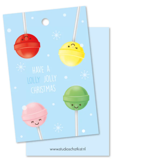 kadolabel have a lolly jolly christmas