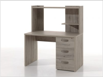 Bureau 120cm Latvia oak/ Royal oak  avec surplus -15%   177.30€
