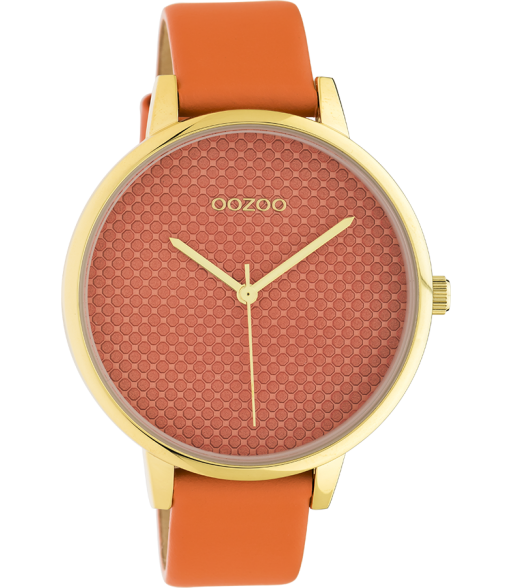 Oozoo horloge Dusty orange