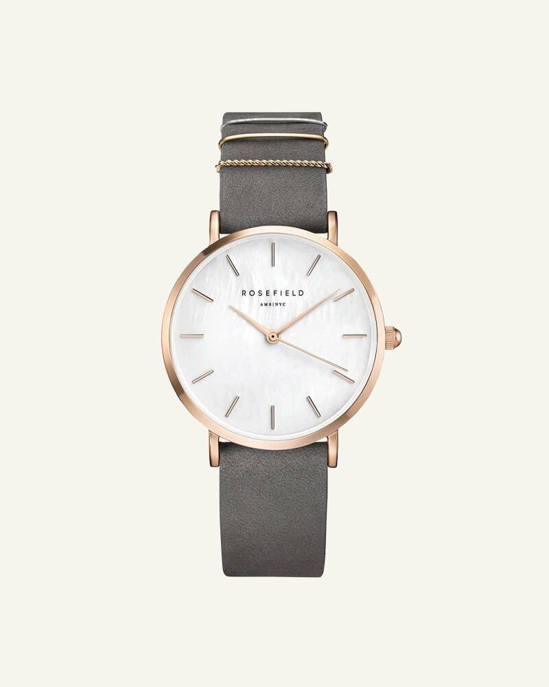 The West Village Elephant Grey Rose gold 33mm