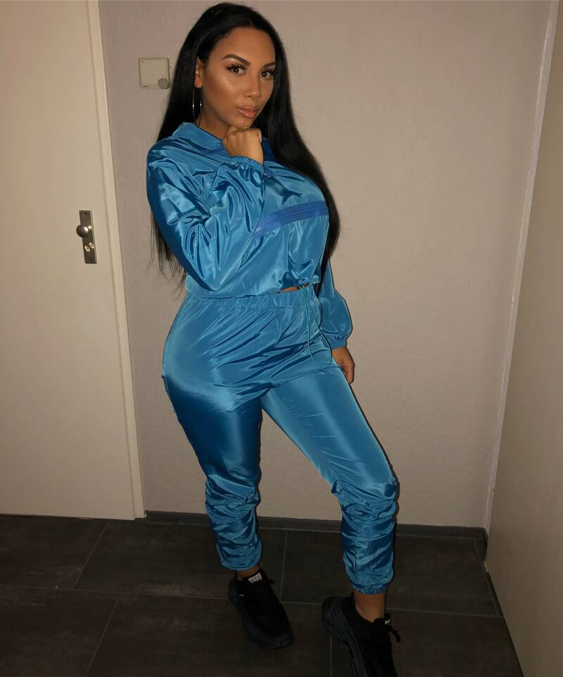 ICEY Blue Tracksuit