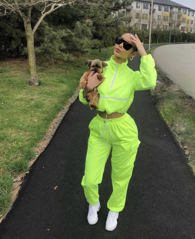 LIME ZIP Tracksuit