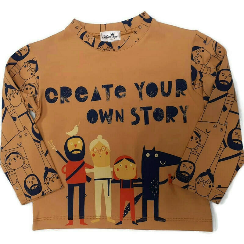 T-shirt create your own story.