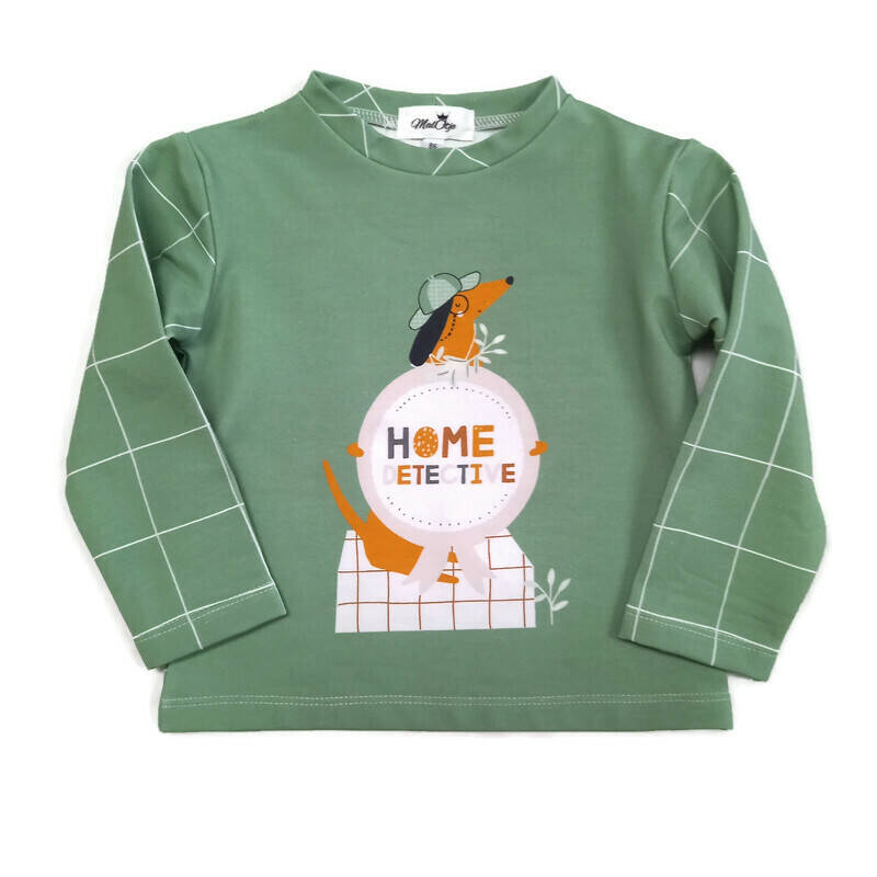 Sweater Home detective.