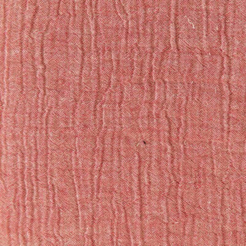 Mousseline Chambray Pink.