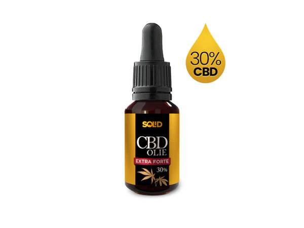 Solid CBD 30% full-spectrum ( 3 flesjes 10ml)