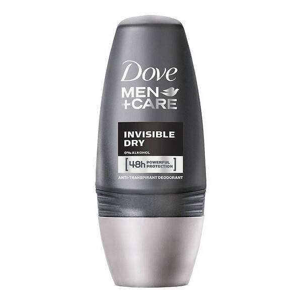 Dove Deodorant Roller Men Invisible Dry (50 ml)