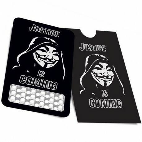 Anonymous Card Grinder