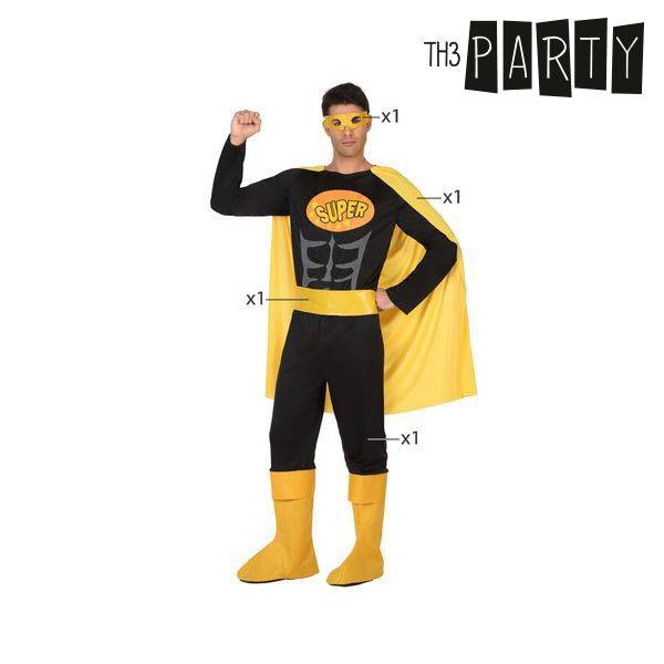 Th3 Party Superhero Zwart