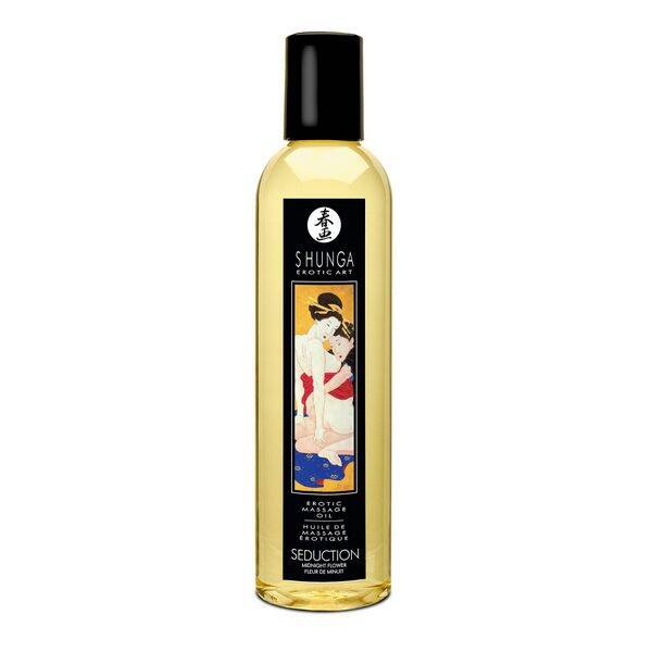 Shunga massageolie midnight flower