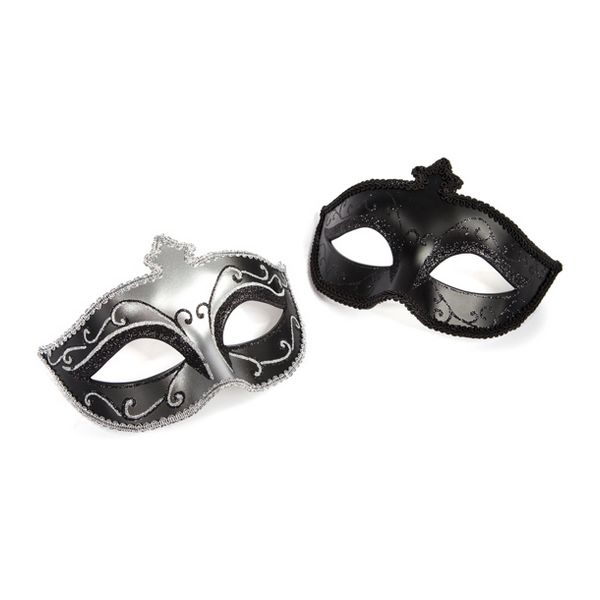 Fifty Shades Of Grey  Masquerade Mask Twin Pack