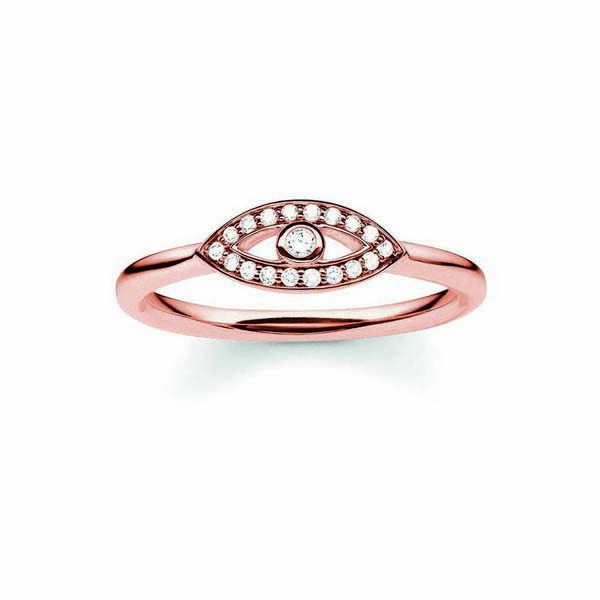 Ring Dames Thomas Sabo TR2075-416-14/18mm