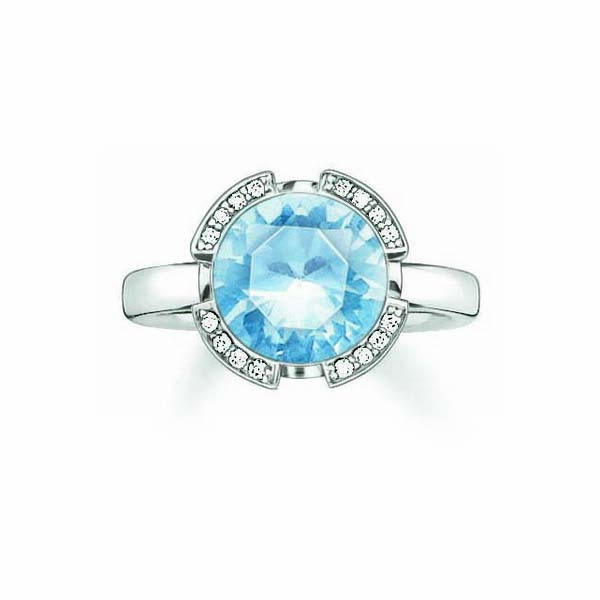 Ring Dames Thomas Sabo TR2038-059-31/16,5mm