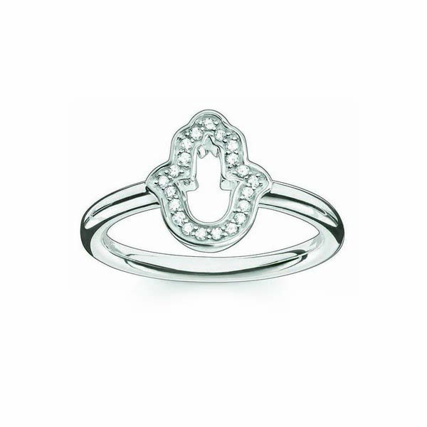 Ring Dames Thomas Sabo TR2076-051-14/17,25mm