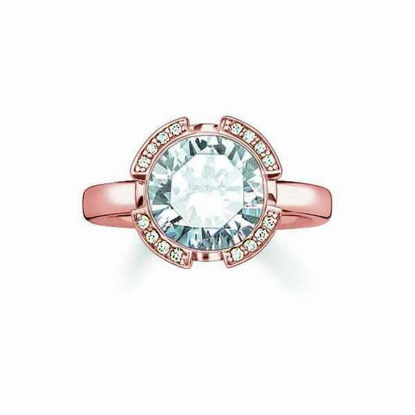 Ring Dames Thomas Sabo TR2038-416-14/ 16,5 mm