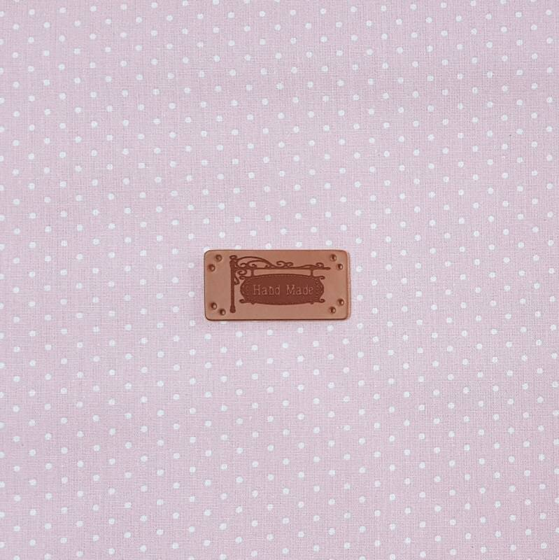 Declaration Label (PU Leather) Hand made 965