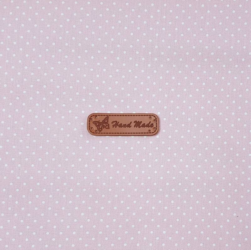 Declaration Label (PU Leather) Hand made 971
