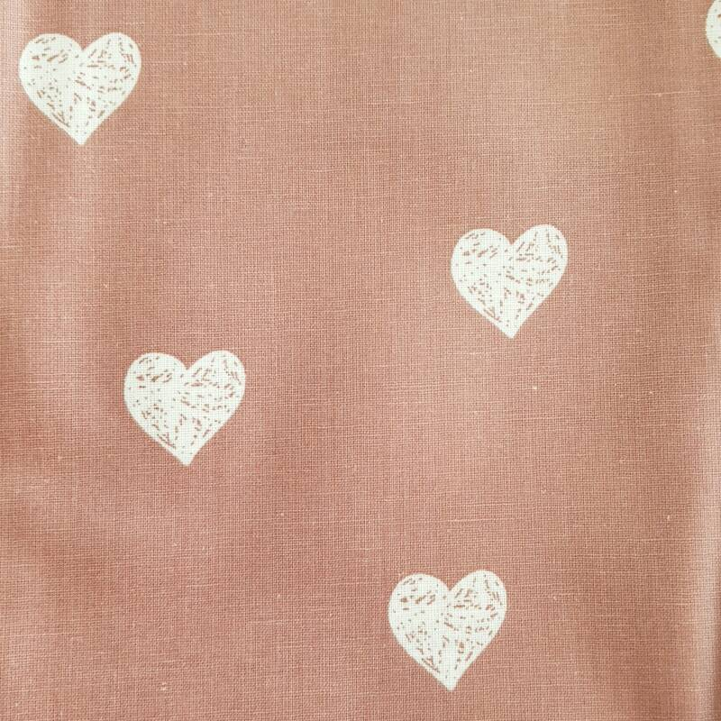 122 Old Pink Hearts